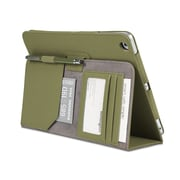 Comercio™ Soft Folio Case & Stand for iPad® Air, Olive
