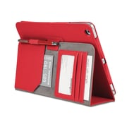 Comercio™ Soft Folio Case & Stand for iPad® Air, Red