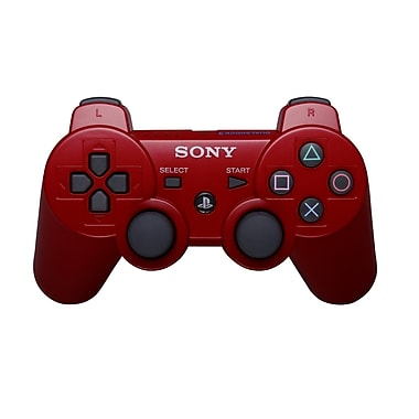 Sony® DUALSHOCK® 3 Wireless Controller For PlayStation® 3, Red