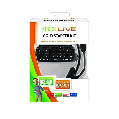 Microsoft® CXC-00008 12 Month Gold Starter Kit For Xbox 360 Live