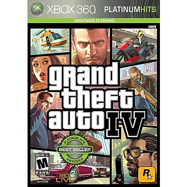 T2™ ROC-39012 Grand Theft Auto IV, Action/Adventure, Xbox 360