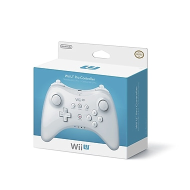 Nintendo® WUPARSKA Pro Controller For Wii U, White