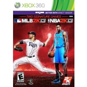 T2™ 49262 MLB 2K13/NBA 2K13 Combo Pack, Sports, Xbox 360
