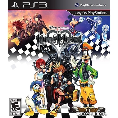 Square Enix® SQR-91331 Kingdom Hearts HD 1.5 Remix, Role Playing, PS3