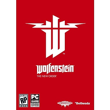 Bethesda® BET-093155118829 Wolfenstein The New Order, Shooter, PC