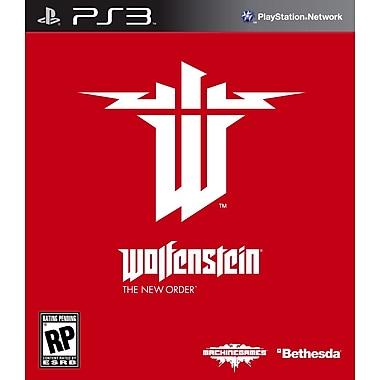 Bethesda® BET-093155118812 Wolfenstein The New Order, Shooter, PS3