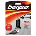 Energizer® 7.5 W Single USB Universal Car Charger, Black