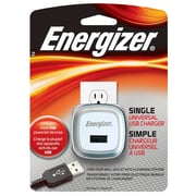 Energizer® 5 W Single USB Universal Wall Charger, White