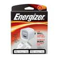 Energizer® 10 W USB Wall Charger With Cable, White