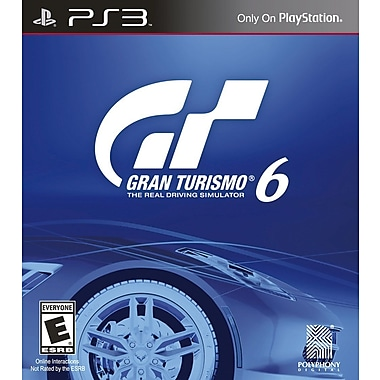 Sony® SNY-98296 Gran Turismo® 6, Racing, PS3