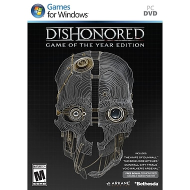 Bethesda® BET-093155118898 Dishonoured Game Of The Year Edition, Action Adventure, PC