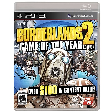 T2™ 2K 2KG-47333 Borderlands 2 Game Of The Year Edition, Shooter, PS3