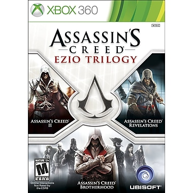 Ubisoft® 52883 Assassins Creed: Ezio Trilogy, Action/Adventure, Xbox 360