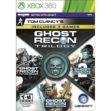 Ubisoft® 52884 Tom Clancy's Ghost Recon Trilogy, Shooter, Xbox 360