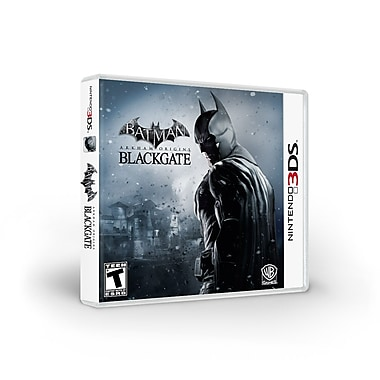 WB® 1000381349 Batman Arkham Origins Blackgate, Action/Adventure, Nintendo 3DS™