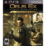 Square Enix® SQR-91349 Deus Ex Human Revolution™ Director's Cut, First Person Shooter, PS3