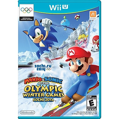 Nintendo® WUPPAURE Mario & Sonic at The Sochi 2014 Olympic Winter, Sports, Wii U™