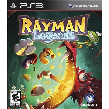 Ubisoft® UBI-34766 Rayman® Legends, Action/Adventure, PS3