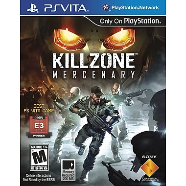 Sony® 22022 Killzone™ Mercenary, First Person Shooter, PS Vita