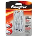 Energizer® Micro/Mini USB Charging Cable, White