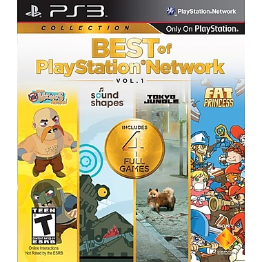 Sony® SNY-99205 Best Of PlayStation®Network Vol 1, Action/Adventure, PS3