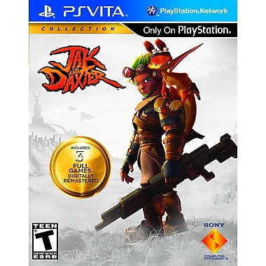 Sony® 22127 Jak and Daxter Collection, Action/Strategy/Platformer, PS Vita
