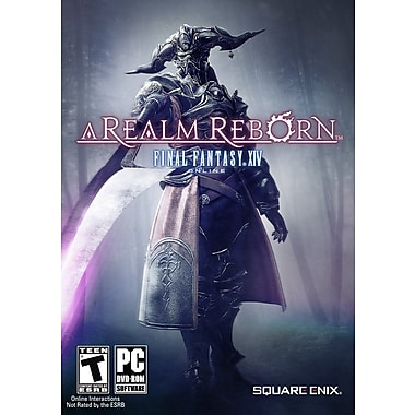 Square Enix® SQR-91229 Final Fantasy XIV A Realm Reborn, Role Playing, Massively, Multiplayer, PC
