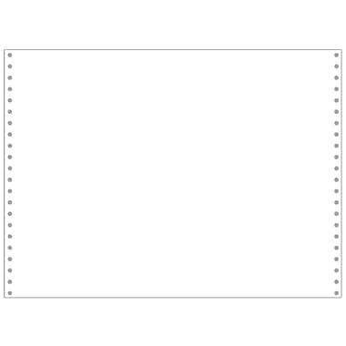 Printworks® Professional Blank Computer Paper, 14 7/8in. x 11in., White, 2500 Sheets