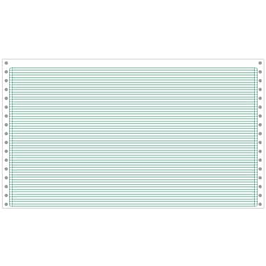 Printworks® Professional Computer Paper W/1/8in. Green Bar, 14 7/8in. x 8 1/2in., White, 3000 Sheets