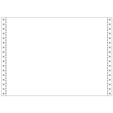 Printworks® Professional Blank Computer Paper, 12in. x 8 1/2in., White, 3600 Sheets