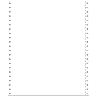 Printworks® Professional Blank Computer Paper, 9 1/2in. x 11in., White, 2200 Sheets