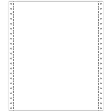 Printworks® Professional 2 Part Blank Computer Paper, 9 1/2in. x 11in., White, 1400 Sheets