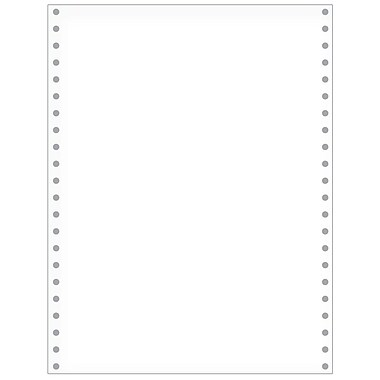 Printworks® Professional Blank Computer Paper, 8 1/2in. x 11in., White, 2500 Sheets
