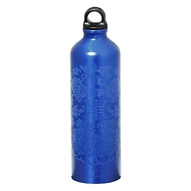 Gaiam® - Bouteille d'eau en aluminium avec capsule de style 1, 750 ml, Sagesse