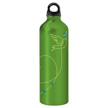 Gaiam® - Bouteille d'eau en aluminium avec capsule de style 1, 750 ml, Inséparable 2