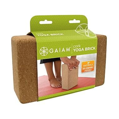 Gaiam® – Brique de yoga en liège