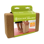 Gaiam® Cork Yoga Brick