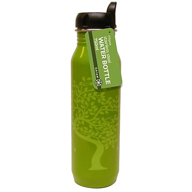 Gaiam® Stainless Steel Water Bottle with Cap Style 2, 750mL, Tree of Life