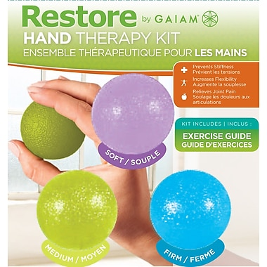 Restore by Gaiam® Hand Therapy Kit