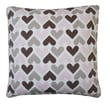 Jiti Hearts Cotton Pillow