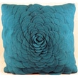 Cloud9 Design Felt Accent Pillow; Turquoise