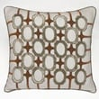 Kevin O'Brien Studio Frames Decorative Pillow; Taupe