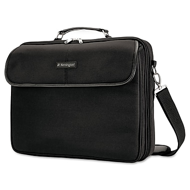 Kensington® 2560 15.6in. Simply Portable 30 Clamshell Laptop Case, Black