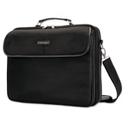Kensington® 2560 15.6 Simply Portable 30 Clamshell Laptop Case, Black