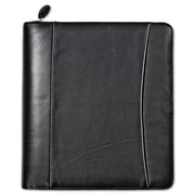 Franklin Covey® Nappa Leather Zipper Organizer Starter Set, Black