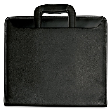 Buxton® Zip Around Portfolio, Black
