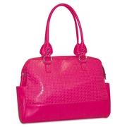 "Buxton® 33T529 Femme 15.6"" Laptop Floral Ladies Tote, Pink"