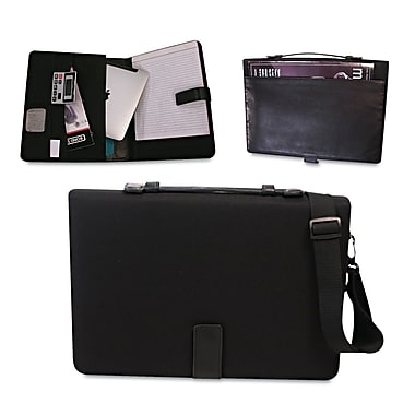 Bond Street® Tablet iPad Organizer With Writing Pad Fits upto 14