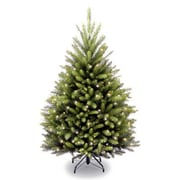 National Tree Co. Dunhill Fir 4.5' Green Artificial Christmas Tree w/450 Incandescent Clear Lights