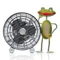 WBM LLC Himalayan Breeze Medium Decorative Frog Fan